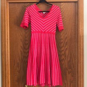 Boden Striped Amelie sweater dress! Like new!